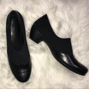 Ecco Black Heels Size 42